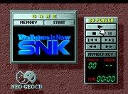 Neo Geo CD interface