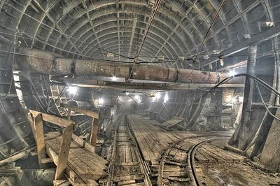 Imágenes de una ciudad subterranea en Rusia