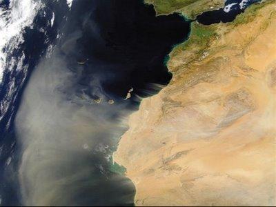 Fotos de la tierra desde satélites