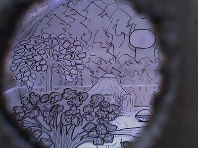 J. Kathleen White peephole art