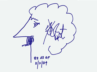vonnegut self portrait