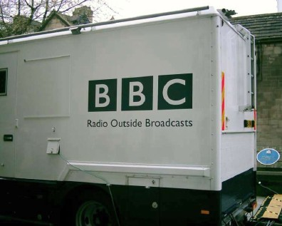bbc radio outside broadcast van