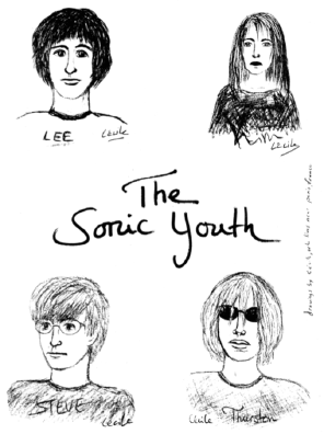 the sonic youth drawn
