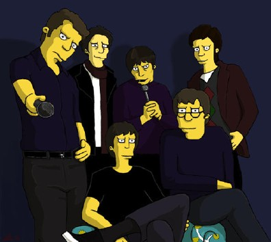 And You Will Know Us By The Trail Of Dead Simpsons