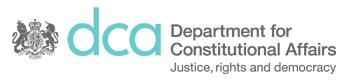 Department for Constitutional Affairs