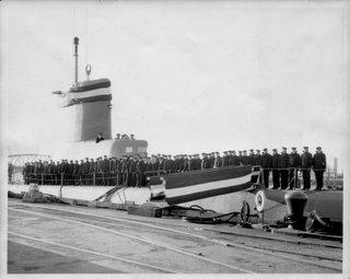 USS Razorback on 08 January 1954