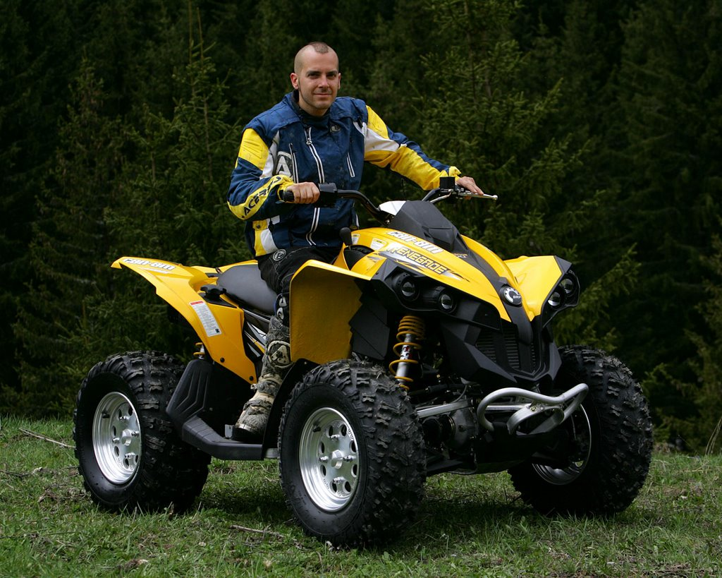 Can Am Bombardier 250 Atv