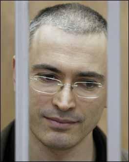 Khodorkovski derrière les barreaux