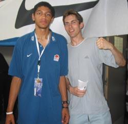 Avec l'excellent Manceau Nicolas Batum qui s'est pris un coup à l'arcade lors de la demi-finale contre la Turquie et n'a donc pas pu jouer la finale