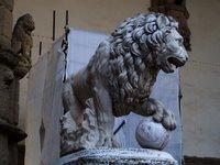 flaminio vaca's lion, florence