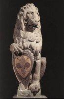 donatello's lion Marzocco