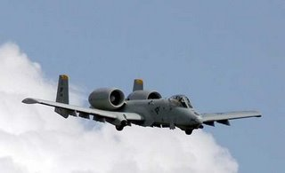 A USAF A-10