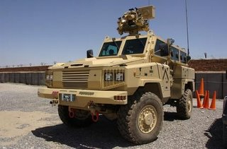 The RG-31, operated by Combat Engineers in the USMC
