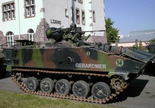 The French AMX 10P - one half of the FRES system?