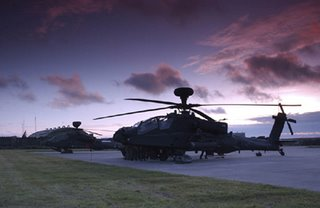 British Army Apaches - at £60 million each