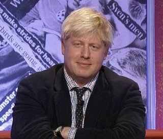 Boris Johnson MP
