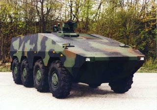 The tri-nation Boxer MRAV