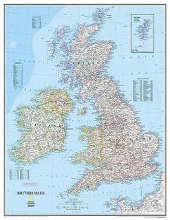 The British Isles - they're islands, stoopid!