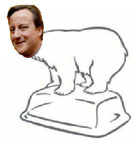 The Cameron 'care bear' and his incredibly shrinking glacier