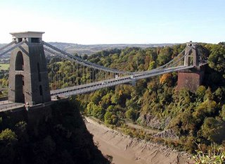 Clifton Suspension Bridge - one of Brunel's greatest achievements