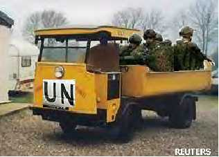 The UN thunders to the rescue