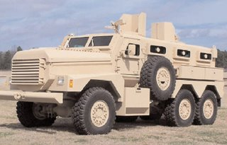 The 6x6 Cougar destined for the Army in Iraq