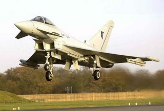 The Eurofighter - white elephant extraordinaire