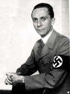 Joseph Goebbels - master of propaganda