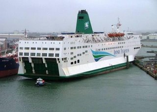 Irish Ferries - one of the companies which would have been targeted by a new directive