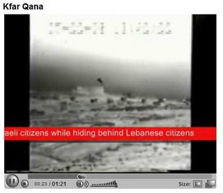 More IDF footage of rocket launches from Qana