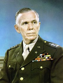 General George Marshall - author of the Marshall Plan