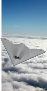 An artist's impression of the Neuron UCAV