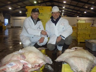 Owen Paterson, former shadow fisheries minister (right)