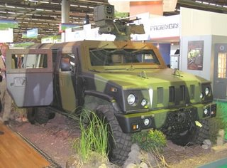 The Iveco Panther Command Liaison Vehicle