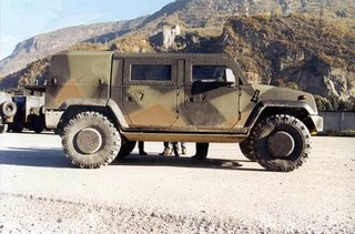 The Italian-built Iveco Panther