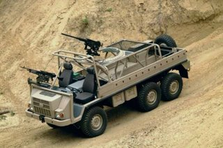 The unarmoured Pinzgauer