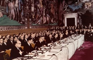 The original vision - men in suits at the signing of the Treaty of Rome - now they want the 'citizens' involved