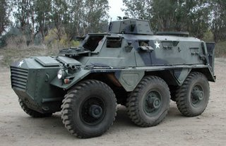 Saracen armoured personnel carrier
