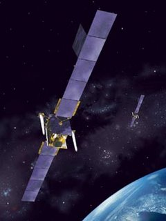 A Skynet 5 communications satellite