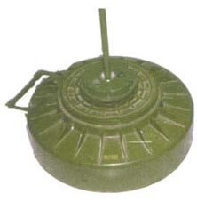 A TMRP-6 'shaped charge' mine