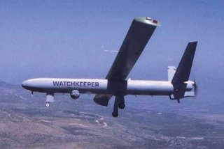The proposed Watchkeeper UAV