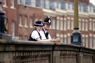 West Mercia police officers - one of the forces that is to be merged, despite its public opposition
