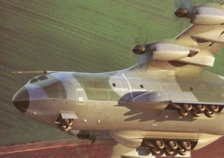 An artist's impression of the A400M - will we see the real thing?