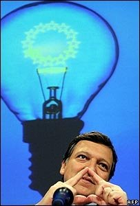 Barroso at the launch of the energy green paper