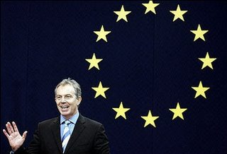 Blair for 'Europe' - but not in our name