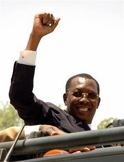 Chad president Idriss Déby
