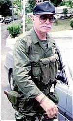 Gilbert Bourgeaud, aka Colonel Bob Denard