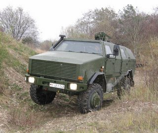 The Dingo 2 mine protected vehicle