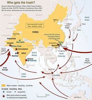 The map of shame - all roads lead to China