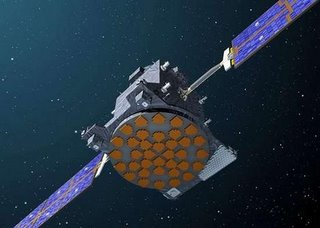 Lost in space?  An artists impression of a Galileo satellite.